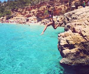 beach, bikini, and swimwear image