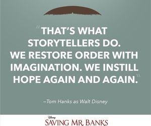 tom hanks, saving mr banks, and disney image