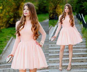 fashion, dress, and high heels image