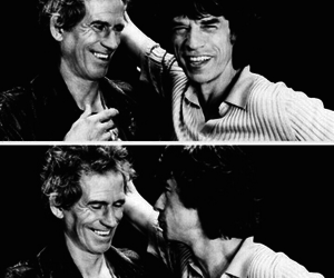 Keith Richards, music, and mick jagger image