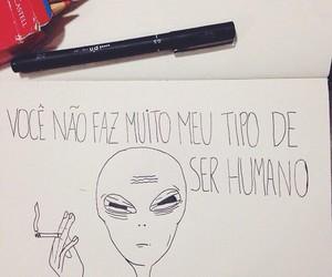 et, humano, and smoke image