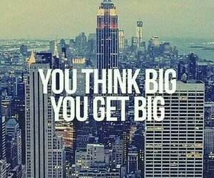 big, quote, and Dream image