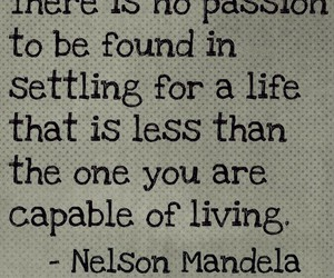 quote, nelson mandela, and life image