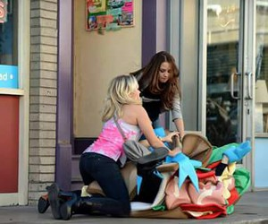 sandwich, emily osment, and aimee carrero image