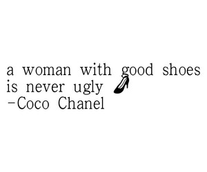beautiful, coco chanel, and quote image