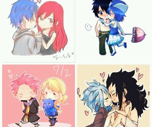 chibi, ♥, and fairy tail image