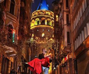 galata tower and istanbul turkey image