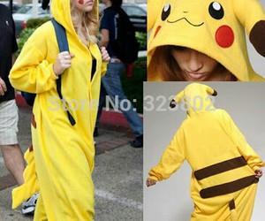 kawaii, pikachu, and one piece image