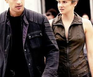 four, theo james, and Shailene Woodley image
