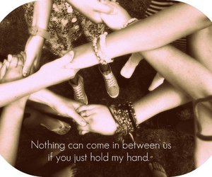 hands, love, and holding hands image