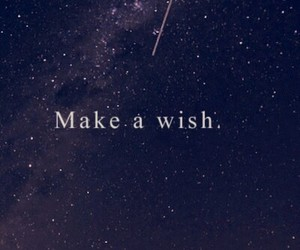 wish, stars, and sky image