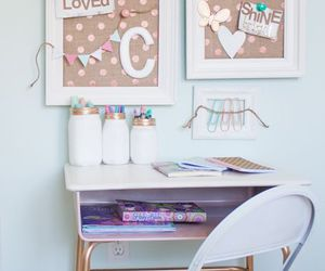 decor, workspace, and home image