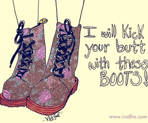 boots, valfre, and kick image