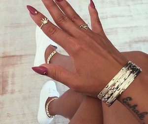 beautiful, rings, and bracelets image