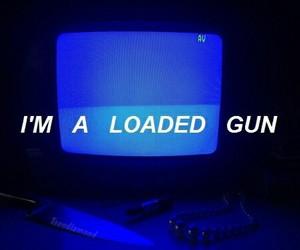 grunge, gun, and indie image