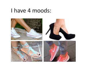 mood, shoes, and high heels image