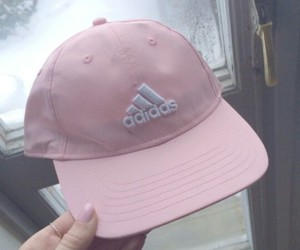 adidas, hat, and pink image