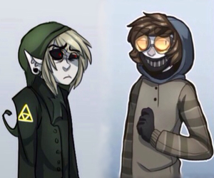 creepypasta, ben drowned, and ticci toby image