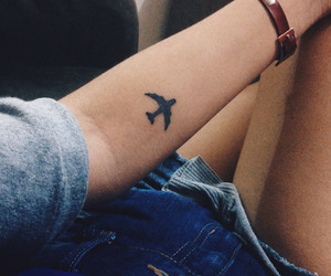 indie, tattoo, and travel image