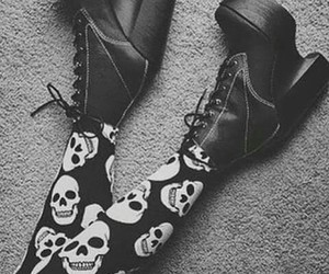 emo, shoes, and style image