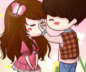 kiss and cute image
