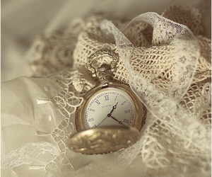 watch, vintage, and clock image