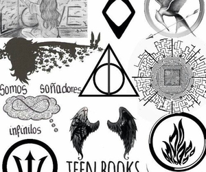 books, percy jackson, and hush hush image