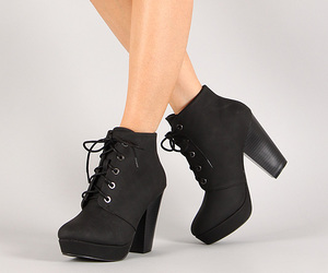 bootie, fashion, and model image