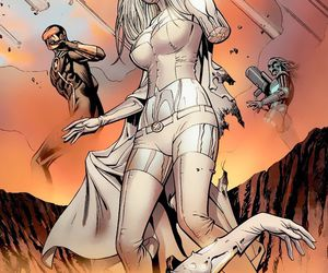 emma frost, xmen, and Marvel image
