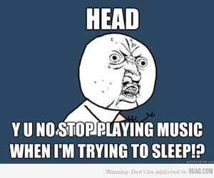 head and music image