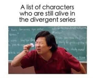 divergent, funny, and book image