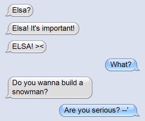 text and elsa image