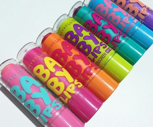 baby lips, makeup, and Maybelline image