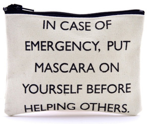 mascara, quote, and emergency image
