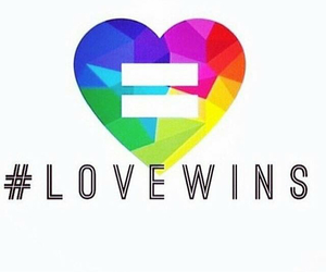 equality, bissexual, and love wins image