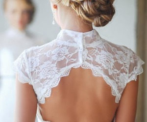 backless, blonde, and blonde hair image