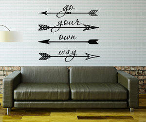 arrow, feather, and go your own way image