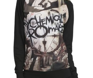 black, clothes, and mcr image