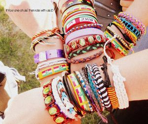 ;D, arms, and bracelets image