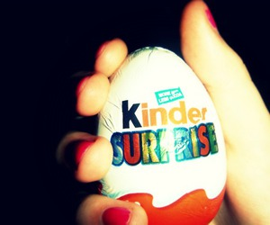 chocolate, photography, and kinder surprise image