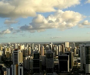 brazil, city, and clouds image