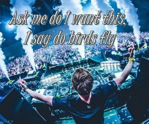 quote, rave, and hardwell image
