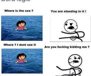funny, Dora, and lol image