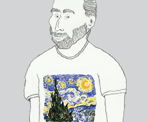 art, gogh, and modern image