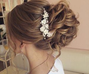 diamonds, fashion, and hair style image