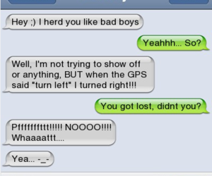 bad boys, funny, and get lost image