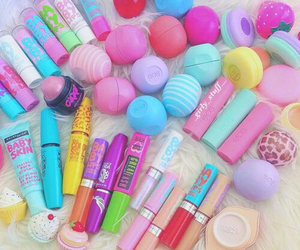 makeup, eos, and baby lips image