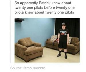 fall out boy, patrick stump, and twenty one pilots image