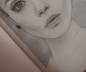 beauties, black, and drawing image