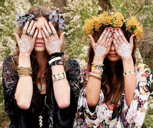 bohemian, chic, and indie image